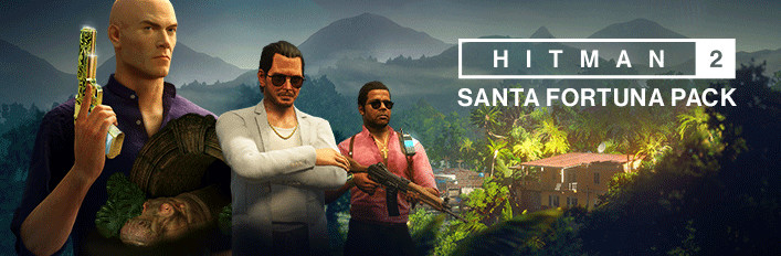 HITMAN 2 Santa Fortuna Pack