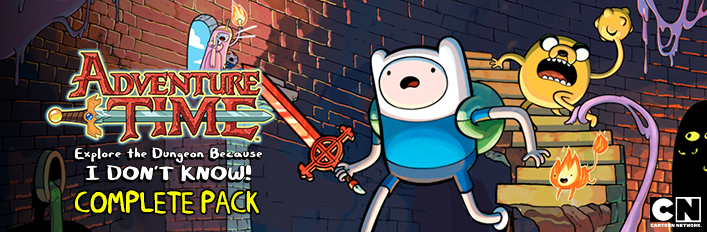 Adventure Time:  Explore the Dungeon Because I DON'T KNOW! COMPLETE PACK