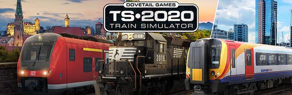 Train Simulator 2020 Store & Humble Bundle package cover art