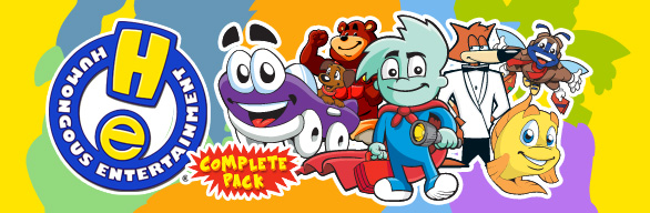 Humongous Entertainment Complete Pack cover art