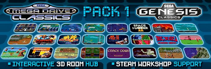 SEGA MegaDrive & Genesis Classics Pack 1