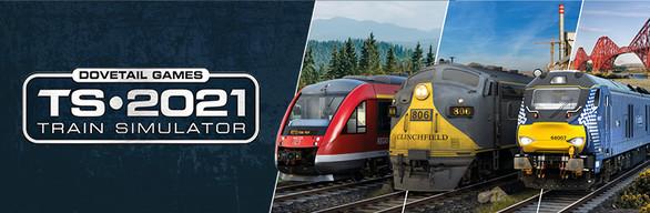 Train Simulator 2021 Store & Humble Bundle package cover art