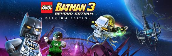 LEGO Batman 3: Beyond Gotham Premium Edition cover art