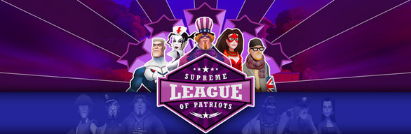 Supreme League of Patriots Season Pass cover art