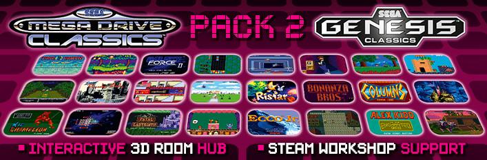 SEGA Mega Drive Classics Pack 2