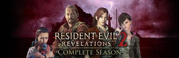 Resident Evil Revelations 2 Complete Season cover art