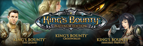 King's Bounty: Platinum cover art