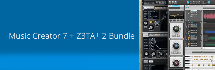Music Creator 7 and Z3TA+ 2 bundle