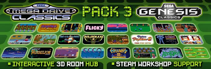 SEGA Mega Drive and Genesis Classics Pack 3