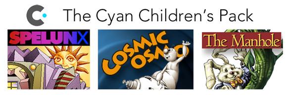 Cyan Children's Pack