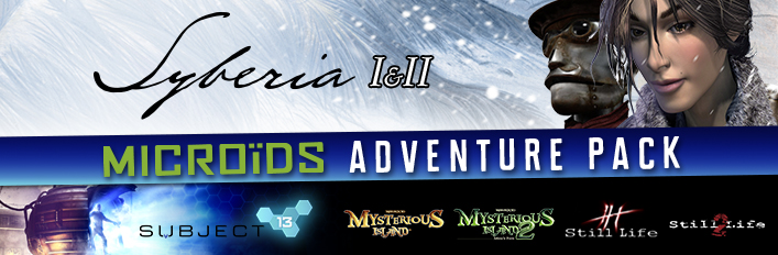 Microids 30th Anniversary Bundle