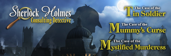 Sherlock Holmes Consulting Detective Collection cover art