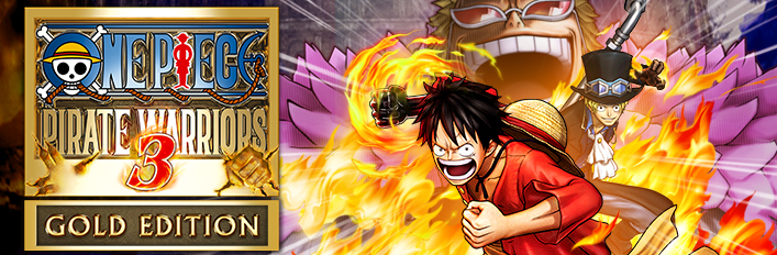 ONE PIECE PIRATE WARRIORS 3 Gold Edition