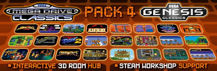 SEGA Genesis Classics Pack 4 NA