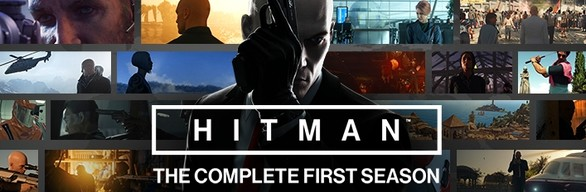 HITMAN: THE COMPLETE FIRST SEASON cover art