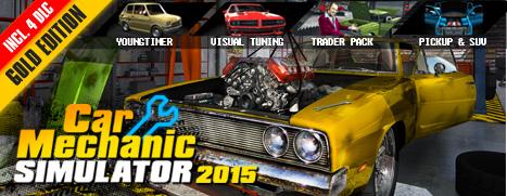 Car Mechanic Simulator 2015 Gold Edition