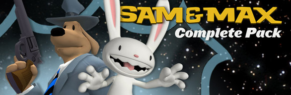 Sam and Max Complete Pack cover art