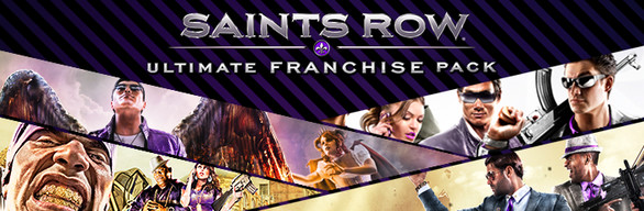 Saints Row Ultimate Franchise Pack New cover art