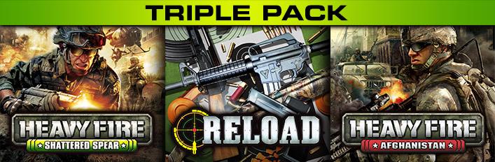 Heavy Fire + Reload Triple Pack