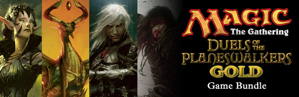 Duels of the Planeswalkers Gold Game Bundle