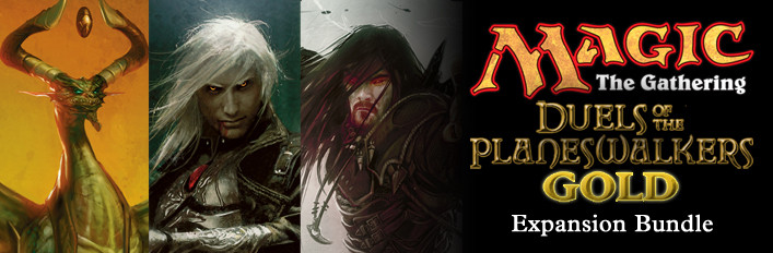Magic the Gathering: Duels of the Planeswalkers: Gold Expansion Bundle