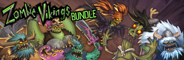 Zombie Vikings + DLC:s + Soundtrack Bundle