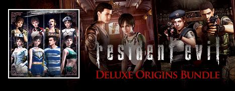 Resident Evil Deluxe Origins Bundle / Biohazard Deluxe Origins Bundle