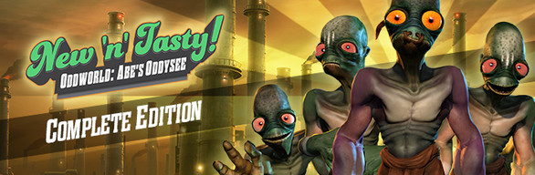 Oddworld: New 'n' Tasty Complete Edition