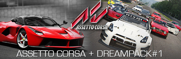 Assetto Corsa + Dream Packs cover art