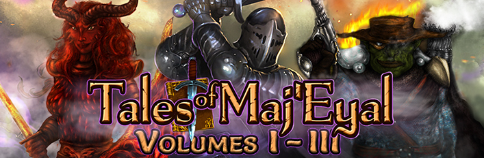 Tales of Maj'Eyal Volumes I - III