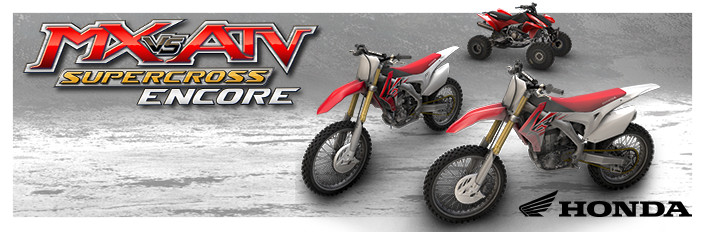 MX vs. ATV Supercross Encore - Honda Bundle
