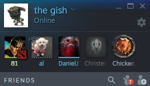 New friends list, voice, and chat features