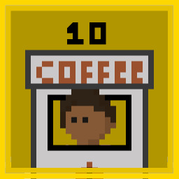 Buy 10 Coffee Kiosks.