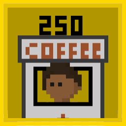 Buy 250 Coffee Kiosks.