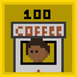 Buy 100 Coffee Kiosks.