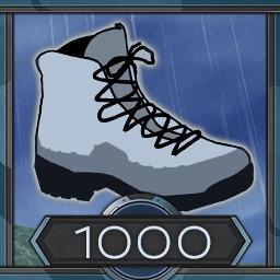 1000 meters