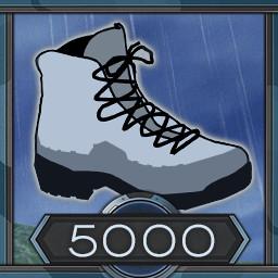5000 meters