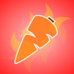 Flamed Carrot