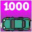 1000 crashes!