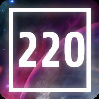 220 pieces