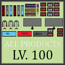 Lv2 All Shelfs Upgraded To Lv.100