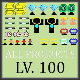 Lv3 All Shelfs Upgraded To Lv.100
