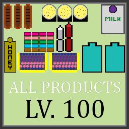 Lv1 All Shelfs Upgraded To Lv.100