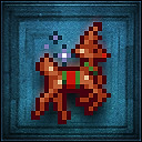 Reindeer sleigher