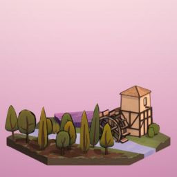 Icon for Watermill Level 3