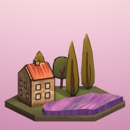 Icon for Lavender Biome Unlocked!