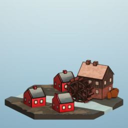 Icon for Watermill Level 4