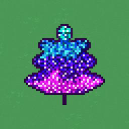 Icon for Glitter Leaf