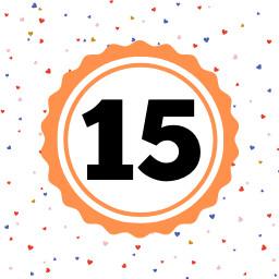 15 levels