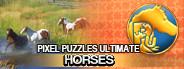 Pixel Puzzles Ultimate - Puzzle Pack: Horses